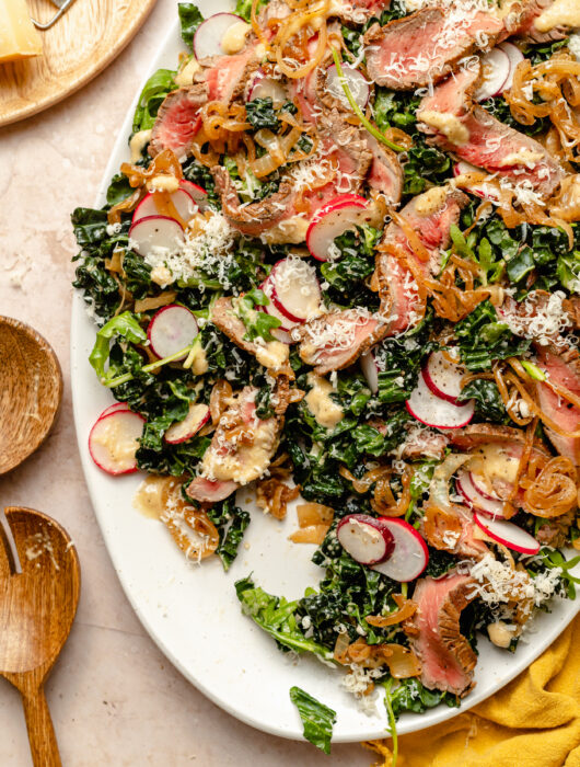 French Onion Steak Salad